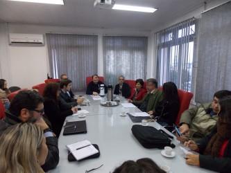 Vereadora considera reunião positiva com o chefe de polícia
