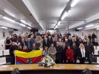 Sessão solene presta homenagem aos 160 anos da Sociedade Orpheu