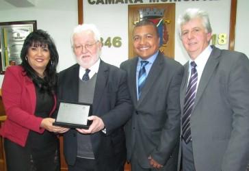 Reitor da Unisinos recebe o título de cidadão leopoldense
