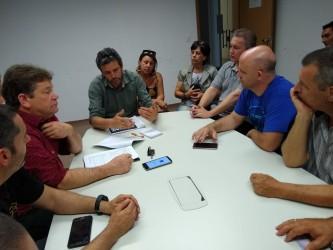Bancada do PDT participa de reunião com secretário e taxistas de São Leopoldo