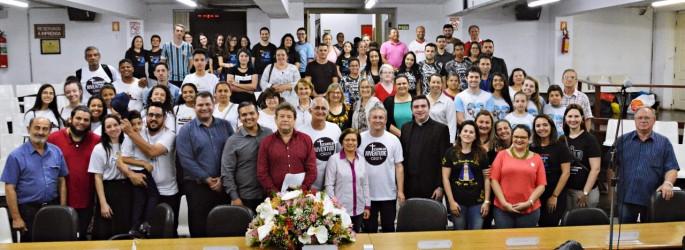 Abertura da Semana da Juventude Cristã