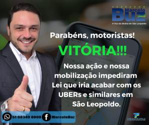 Fim dos aplicativos de transporte urbano em São Leopoldo?