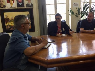 Presidente e vice recebem proprietárias de escolas de educação infantil