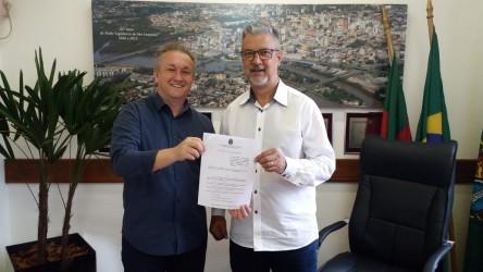 Projeto de Lei de Fabiano Haubert é promulgado pelo Presidente da Câmara