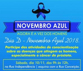 Motta lança 7ª edição do Novembro Azul em São Leopoldo