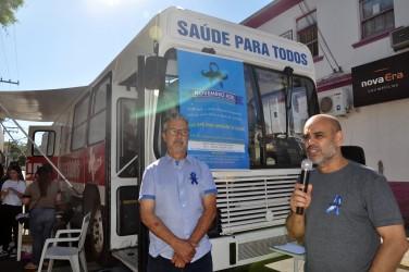 Novembro Azul realiza cerca de 200 atendimentos de saúde