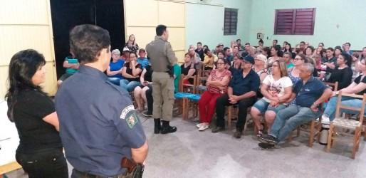 Mobilização por segurança na zona Norte reúne BM e GCM