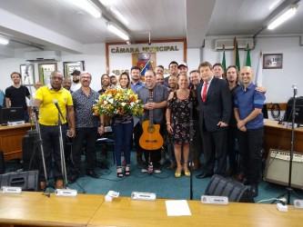 Sessão solene em comemoração ao dia do músico é marcada pela emoção