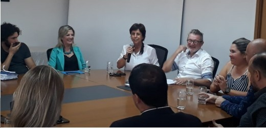 Iara Cardoso participa do lançamento do Programa Aprendiz Legal