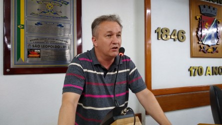 Vereador Fabiano Haubert destaca atividades do Gabinete