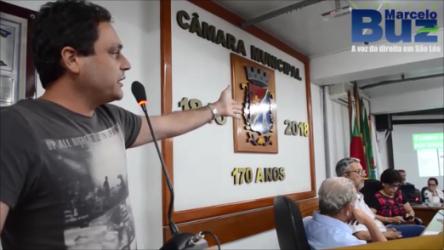 Vereador Marcelo Buz aponta falta de justificativas para o decreto de emergência da saúde