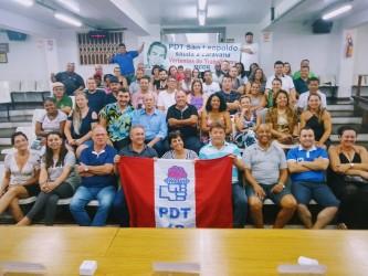 Vereadores do PDT participam da Caravana Vertentes do Trabalhismo
