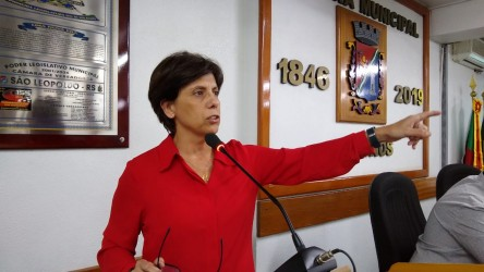 Iara Cardoso solicita laudo técnico dos Diques do Rio dos Sinos