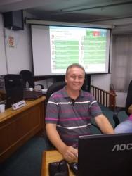 Fabiano Haubert tem espaço em todas as comissões permanentes