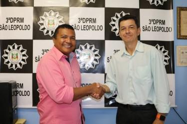 Vereador Brasil apresenta demandas da Segurança ao novo diretor regional da Polícia Civil