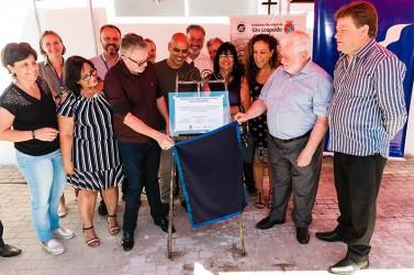 Inauguração da ampliação da UBS Feitoria
