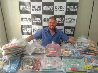 Evento solidário garante doação de materiais escolares