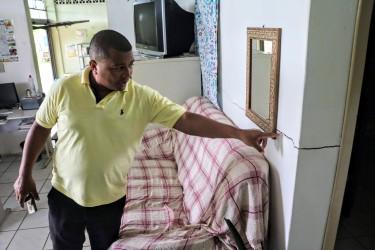 Vereador Brasil Oliveira vistoria prédio do Albergue Municipal
