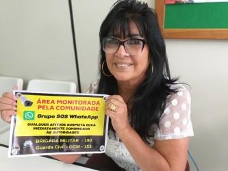 Vereadora Cigana lança Grupo SOS Whatsapp para aumentar segurança na Zona Norte