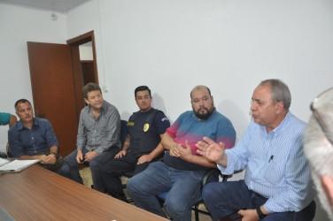Presidente da Câmara vereador Ary Moura participa de reunião na Assemplife