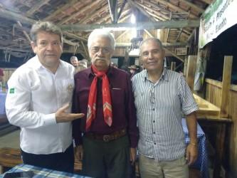 Ary Moura participa do entrevero cultural na Querência dos Vargas