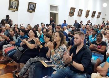 Vereadores do PT acompanham ações do Regulariza São Leo