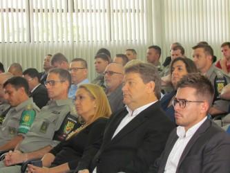Ary Moura (PDT) participa da cerimônia de troca de comando do 25º BPM