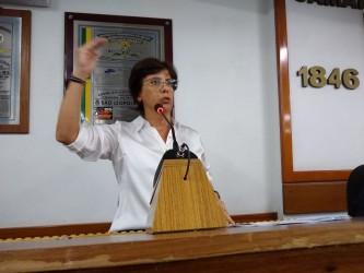 Vereadora Iara Cardoso propõe a Federalização do Hospital Centenário