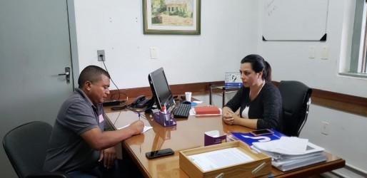 Vereador Brasil se reúne com a presidente da Fundação Hospital Centenário