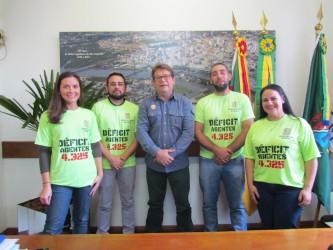 Aprovados em concurso da Susepe buscam apoio na Câmara de Vereadores