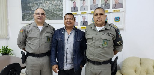 Vereador Brasil conquista apoio da Brigada para o fim da tração animal em São Leopoldo