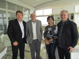 Bancada do PDT na Câmara se reúne com fundador do Grupo Editorial Sinos