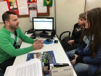 Vereador Arthur recebe demandas do Grêmio Estudantil Castro Alves