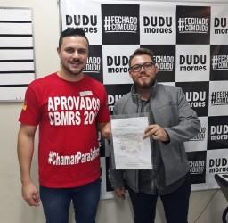 Dudu Moraes apresenta Moção de Apoio aos Bombeiros