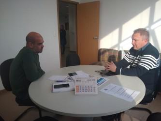 Fabiano visita secretário de saúde