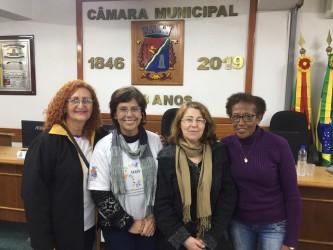 Aprovado projeto da vereadora Iara Cardoso que institui o dia Municipal da Fibromialgia