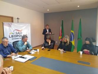 PDT participa do ato de sanção do novo Plano Diretor de São Leopoldo