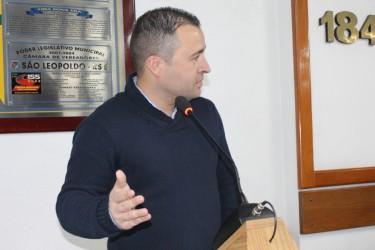 Juliano Maciel assume cadeira na Câmara de Vereadores de São Leopoldo