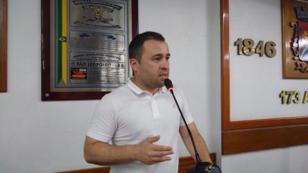 Vereador Juliano Maciel destaca sua preocupação com o Meio Ambiente