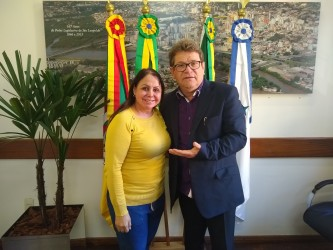 Presidente da Câmara recebe Cidadã leopoldense