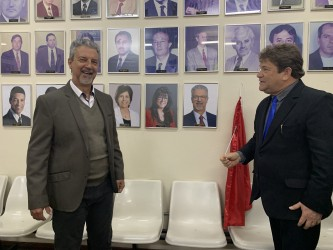 Motta entra para galeria dos ex-presidentes