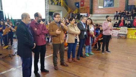 Presidente da Câmara Ary Moura participa da abertura da VII Motic São Leo
