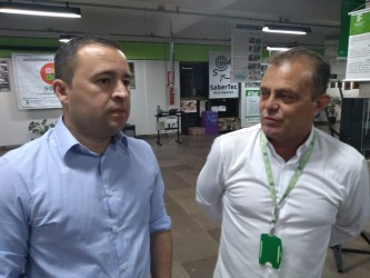 Vereador Juliano Maciel faz visita as dependências do campus do IFSul