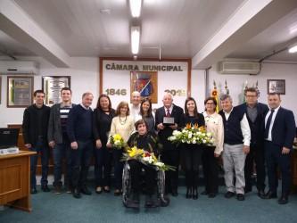 Juliano Maciel concede título de Cidadão Leopoldense ao pastor Dieterico Krause