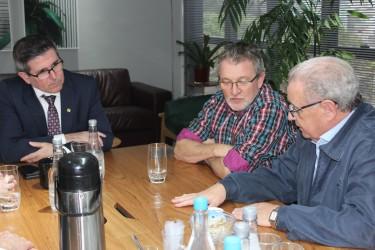 Após solicitação de Galperim, presidente do Simers recebe o prefeito Ary Vanazzi