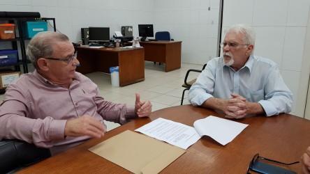 Galperim visita Banco de Alimentos e firma parceria para diminuir a fome em São Leopoldo