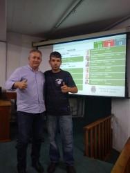 Vereador Fabiano aprova 13 projetos em uma única noite
