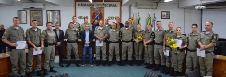 Sessão solene Brigada Militar