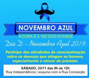 Armando Motta realiza 8ª edição do Novembro Azul