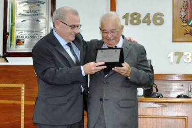 Geraldo Lopes da Silva é o mais novo Cidadão Leopoldense